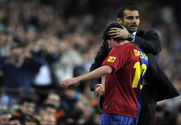 Lionel Messi: Saya Belum Bicara Lagi Dengan Pep Guardiola
