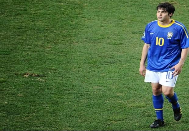 Kaká y Hulk podrían ser titular con Brasil ante Irak