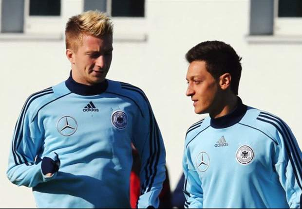 Ozil feels pressure of Germany's expectations