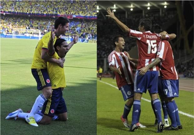 En VIVO: Colombia - Paraguay