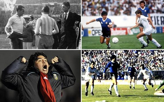 Los Argentina-Uruguay inolvidables