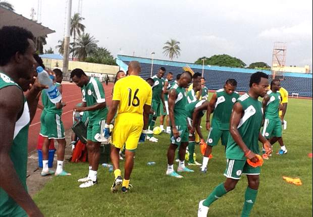 Super Eagles play out a draw against Nasarawa United in first friendly match