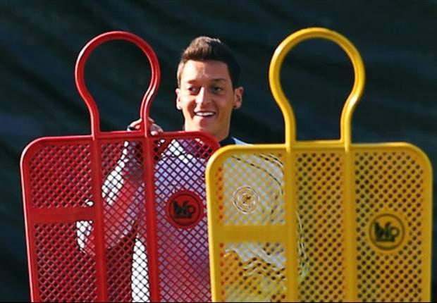 """Mesut Özil vor Kasachstan-Spielen zuversichtlich: """"Wenn wir unseren Fußball spielen, gehen wir als Sieger vom Platz"""""""