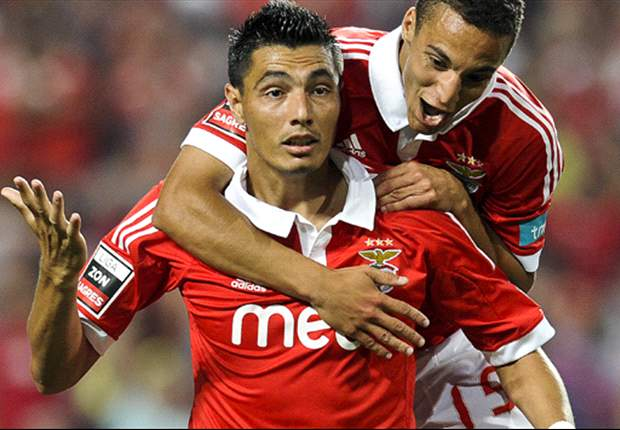 Benfica 2-0 Spartak Moscow: Cardozo double puts Portuguese back in contention