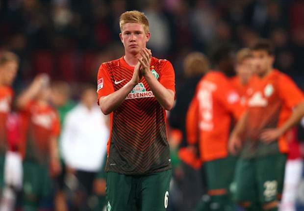 Chelsea loanee De Bruyne is happy at Werder Bremen, insists Allofs