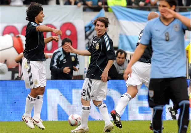En Vivo: Argentina-Uruguay, sigue todas las eliminatorias en Goal.com