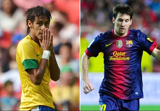 Com Messi no topo, oito brasileiros estão na lista dos jogadores mais valiosos do mundo
