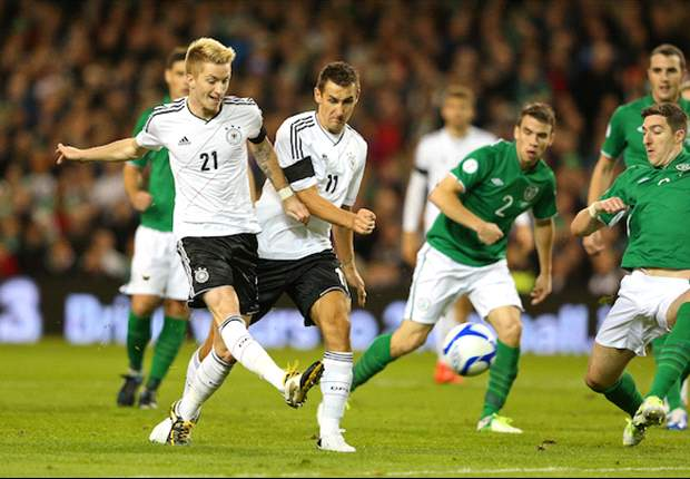 Republic of Ireland 1-6 Germany: Reus stars as Low's men produce ruthless display