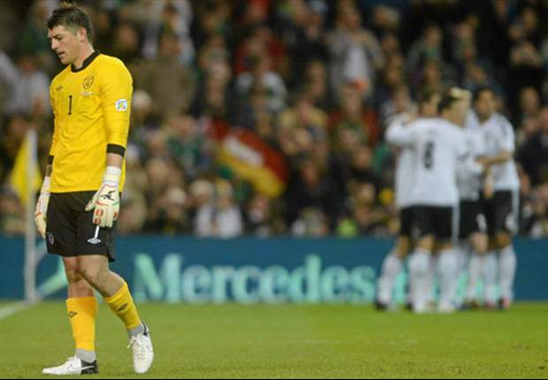 Keiren Westwood ruled out of Ireland's friendly against Greece