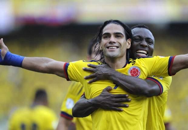 Colombia 2-0 Paraguay: Falcao, una vez más, pone a celebrar a los cafeteros