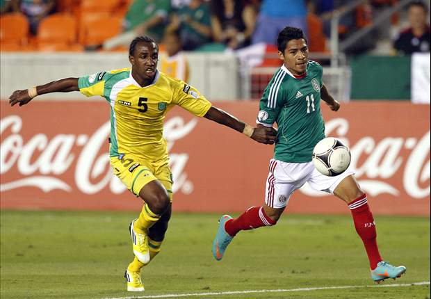 Guyana 0-5 Mexico: Experimental El Tri breaks the doors down late