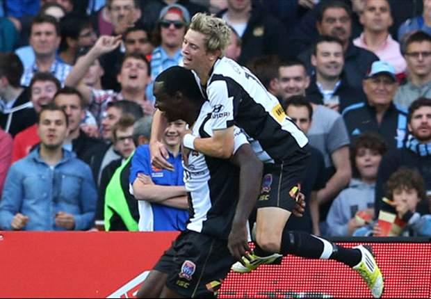 Heskey off the mark as Newcastle Jets beat Del Piero's Sydney FC