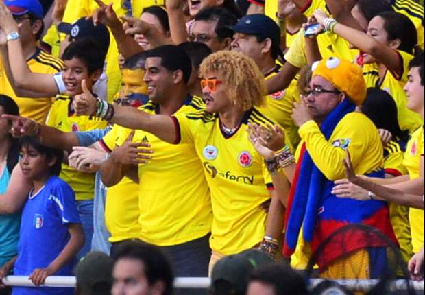 """A James no le ha pesado la camiseta de Colombia"", Pibe Valderrama"