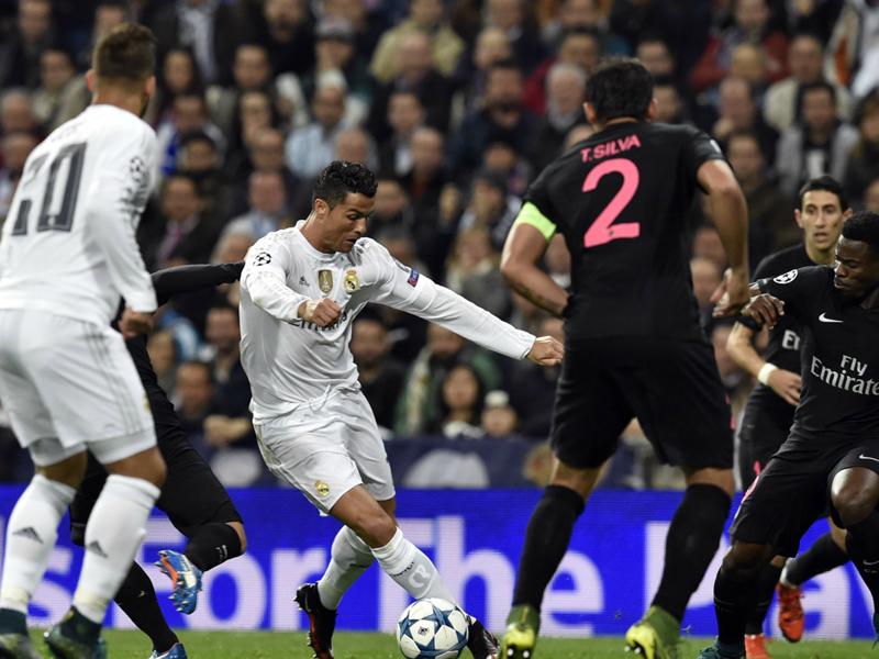 Les dates de Real-PSG et PSG-Real Madrid en huitièmes de Ligue des champions