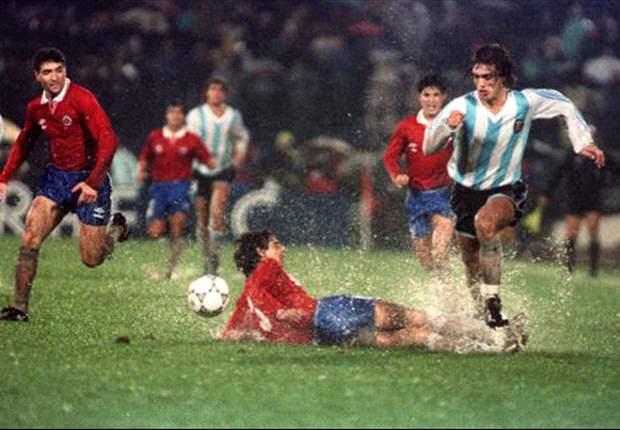 Chile-Argentina, un partido con más de un siglo de historia