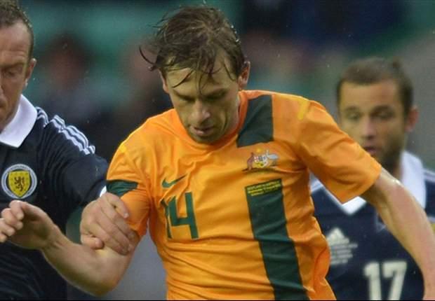Brett Holman happy with Socceroos build-up
