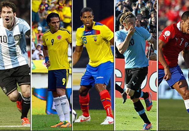 Las Eliminatorias sudamericanas, en etapa de definiciones