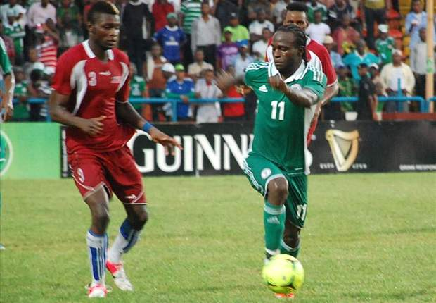 Super Six from Nigeria as Super Eagles demolish Liberia