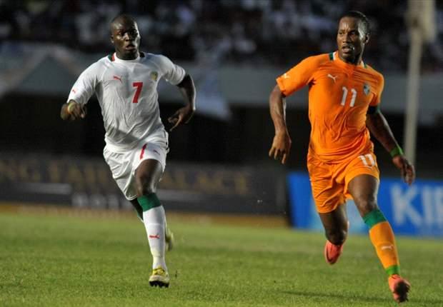 Drogba volverá a enfrentar a Senegal por las Eliminatorias de África.