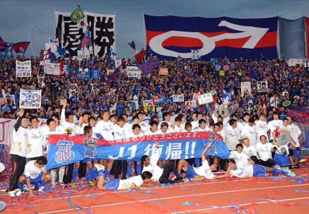 Ventforet Kofu merupakan klub yang berbasis komunitas.