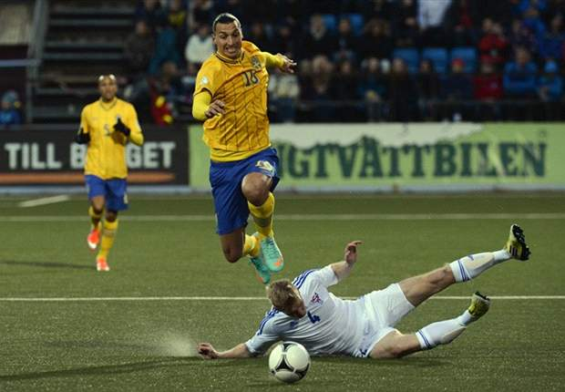 Ibrahimovic is childish and a dirty player, says Faroe Islands captain