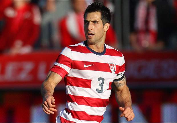 USA captain Bocanegra plays first minutes in almost two months