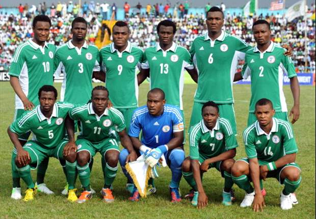 Super Eagles defy rains to prepare for Burkina Faso