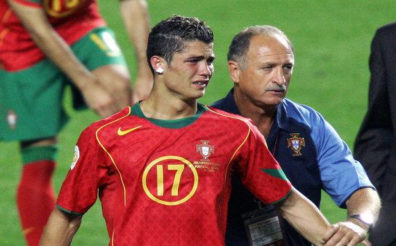 Skolari: Ronaldu EURO-2004 ga qaraganda kuchliroq o'yin ko'rsatayapdi