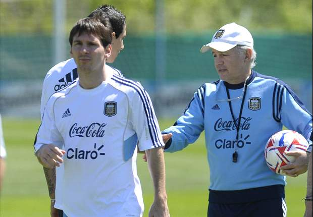 Sabella: It's an honour to coach Messi for Argentina