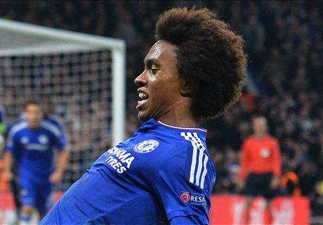 Willian inspired by Becks & Ronaldinho
