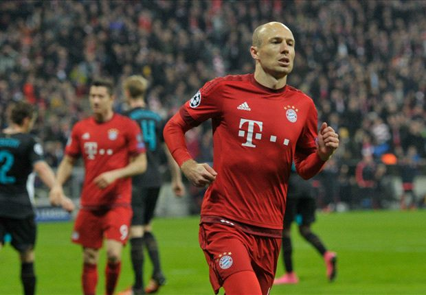 Bayern-Arsenal (5-1), Le Bayern s