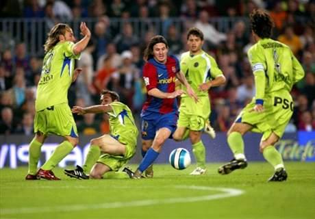 Nueve años del mejor gol de Messi