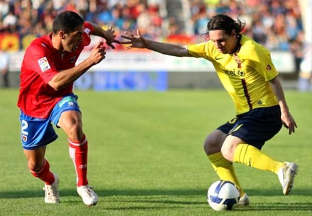 En 2008, Numancia sorprendía al Barcelona de Pep, que debutaba en el banquillo culé