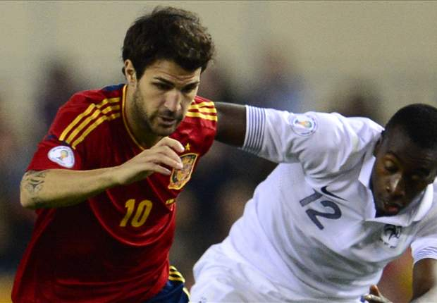 Fabregas: Spain must go all out to beat France