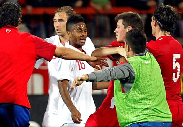 Several incidents of racism reported to Uefa following England Under-21 tie in Serbia