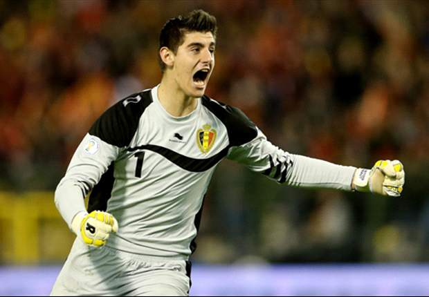 Courtois unconcerned over Copa del Rey final venue