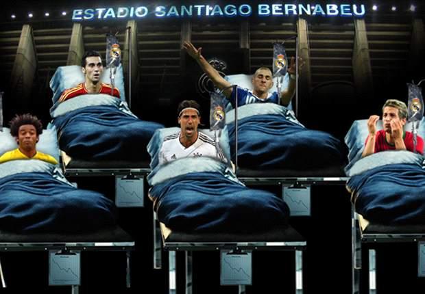 Arbeloa, Marcelo, Khedira... El Virus FIFA convierte el Real Madrid en un 'Hospital Internacional'