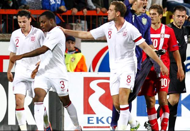 'The game should have been stopped' - anti-racism group slam Uefa for failing to act in Serbia