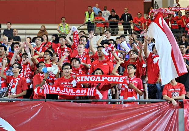 Singapore football chants go global