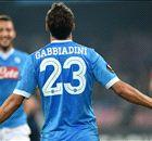 Napoli 5-0 Midtjylland: Gabbiadini double