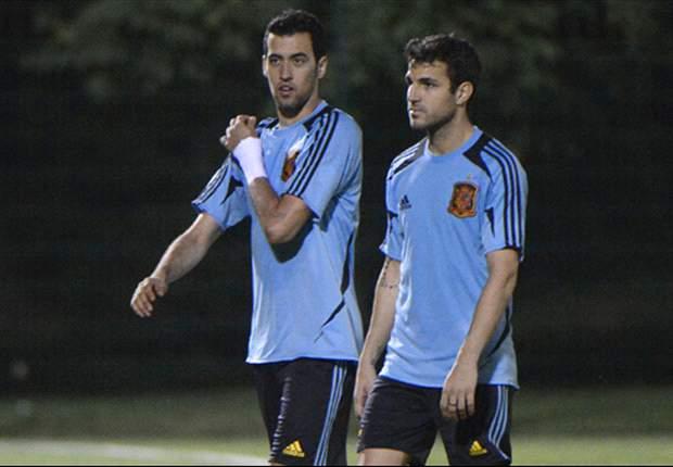 Fabregas merasa atmosfer di tim nasional Spanyol lebih positif.