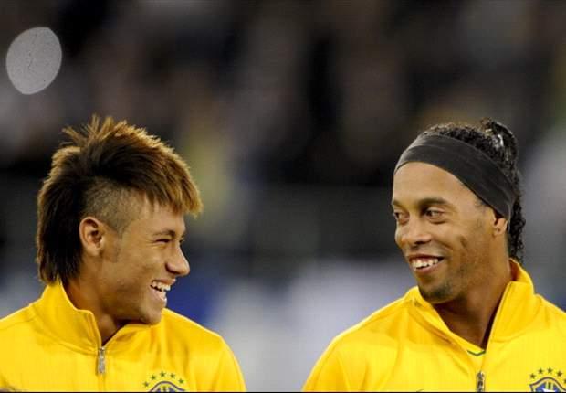 Neymar: Inglaterra no es rival para Brasil en 2014