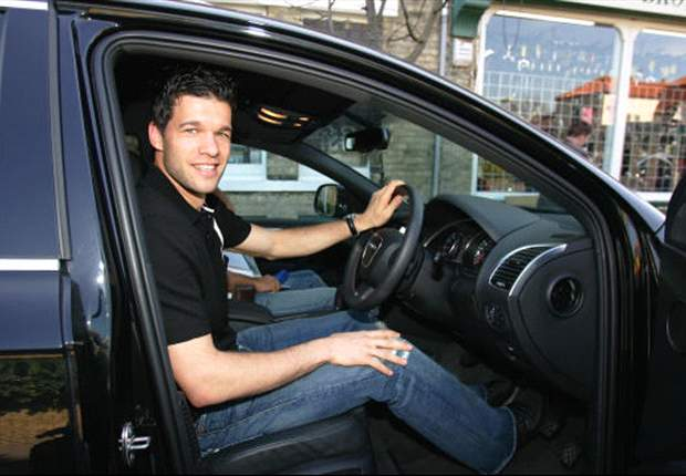 Ballack charged for speeding in Spain