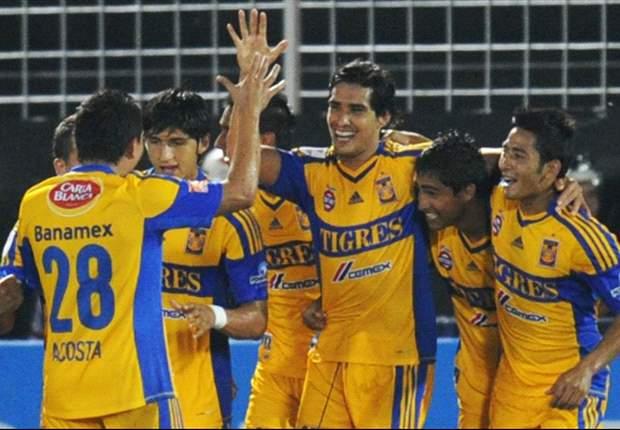 Tigres 5-0 Pumas: Acosta anota tres para dejar tendidos a los dirigidos por Carrillo