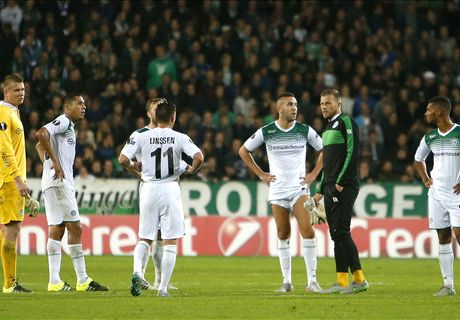 Groningen met Hoesen tegen Braga