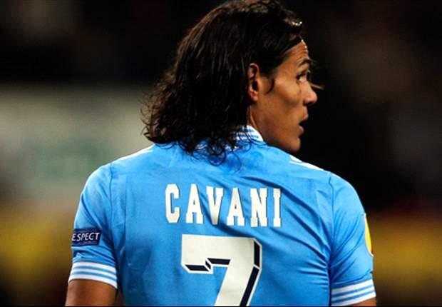 Verso Napoli-Viktoria Plzen: Cavani immune al turn-over, compleanno in campo! Insigne dà forfait, Hamsik in panca