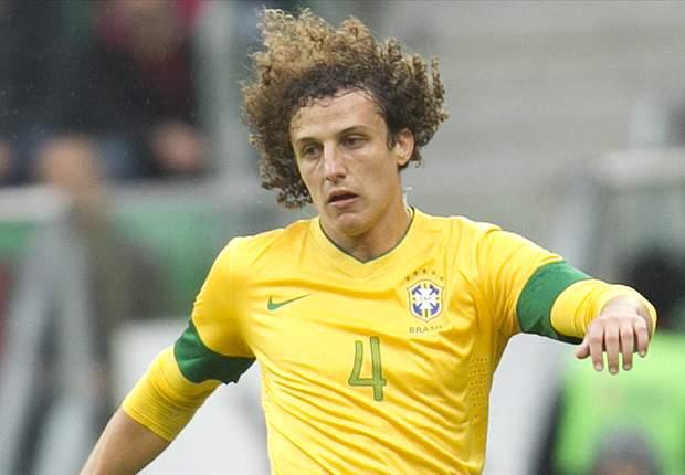 David Luiz será o capitão do Brasil