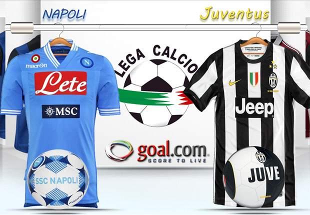 ¡Las alineaciones confirmadas del Napoli - Juventus!