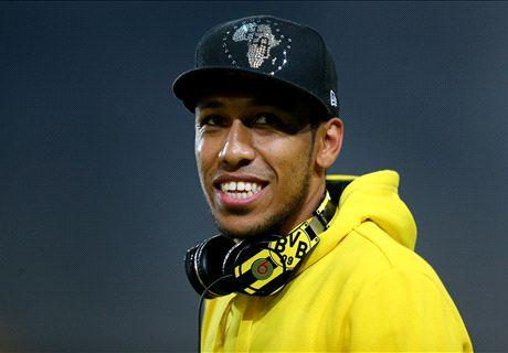RUMOURS: Man Utd join Aubameyang race