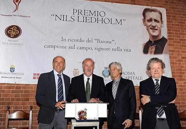 Vicente Del Boque espera que el ganador del Balón de Oro sea un español